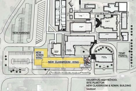 5.4 Haughton High School-Wing Under Construction