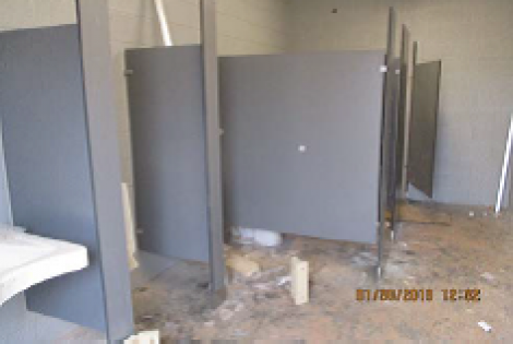5.1 Parkway High School Restrooms & Site Improvements-Substantially Complete