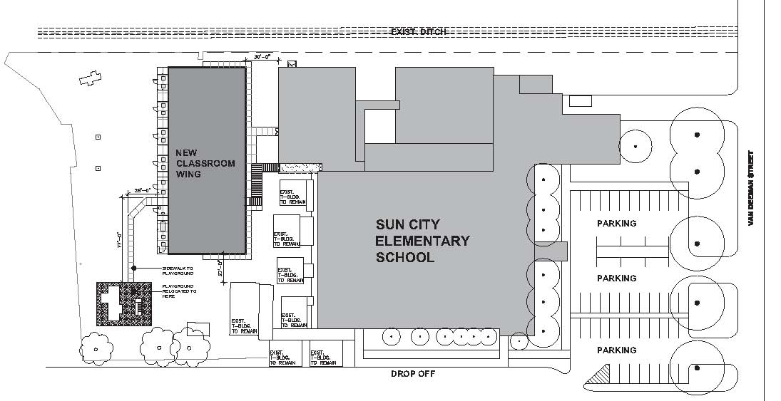 5 0 Sun City Elementary New Wing raquo Bossier Parish Schools